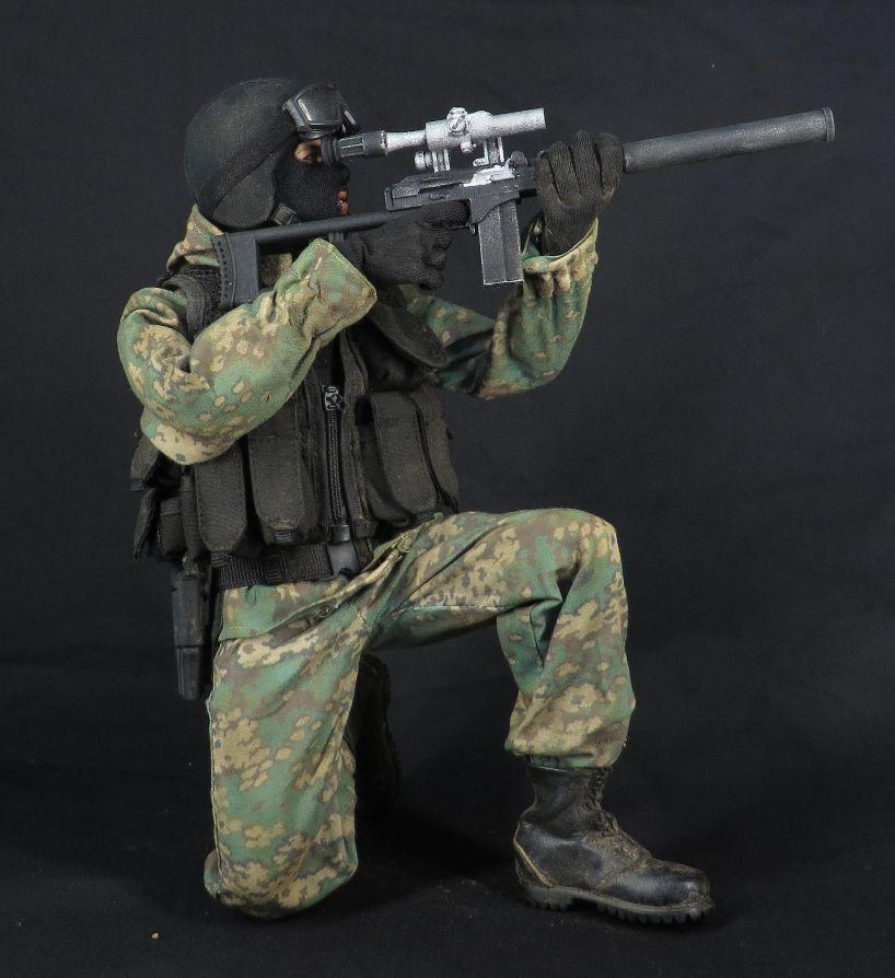 俄罗斯特种部队狙击手