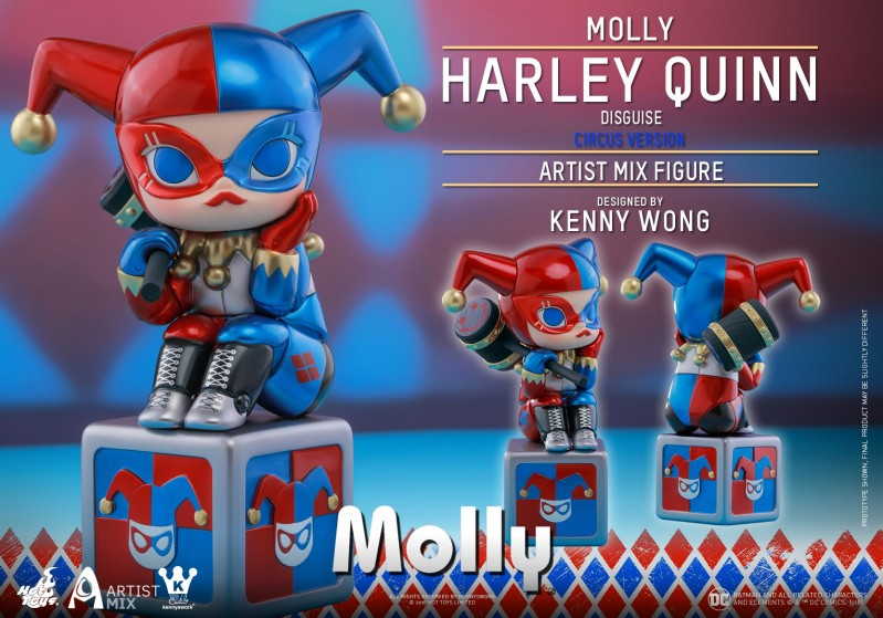 Hot Toys - Molly (Harley Quinn Disguise) Circus Version Artist Mix Figure design.jpg