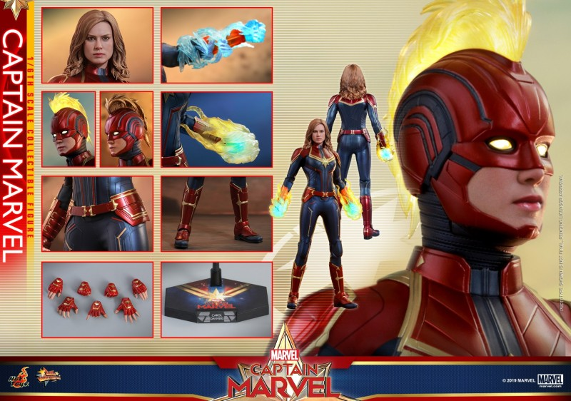 Hot Toys - Captain Marvel - Captain Marvel collectible figure_PR15.jpg