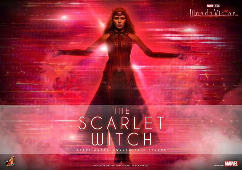 Hot Toys - WandaVision - The Scarlet Witch collectible figure_Poster.jpg