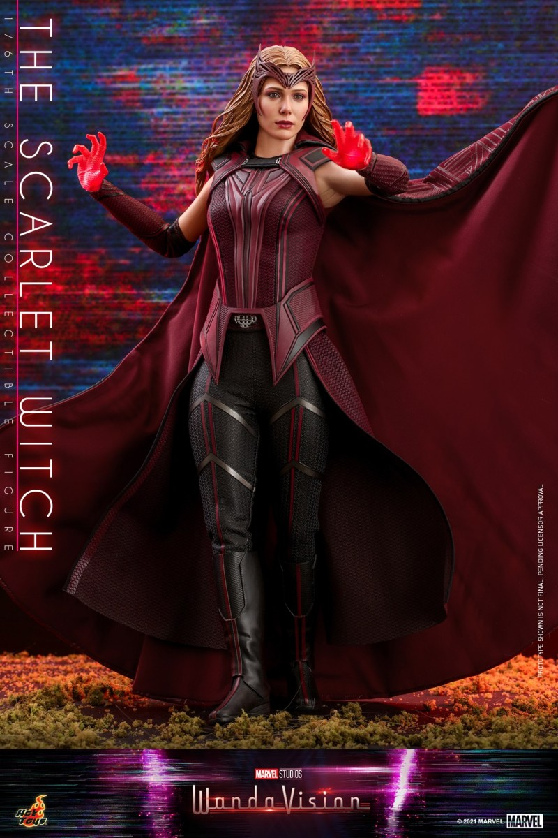 Hot Toys - WandaVision - The Scarlet Witch collectible figure_PR3.jpg