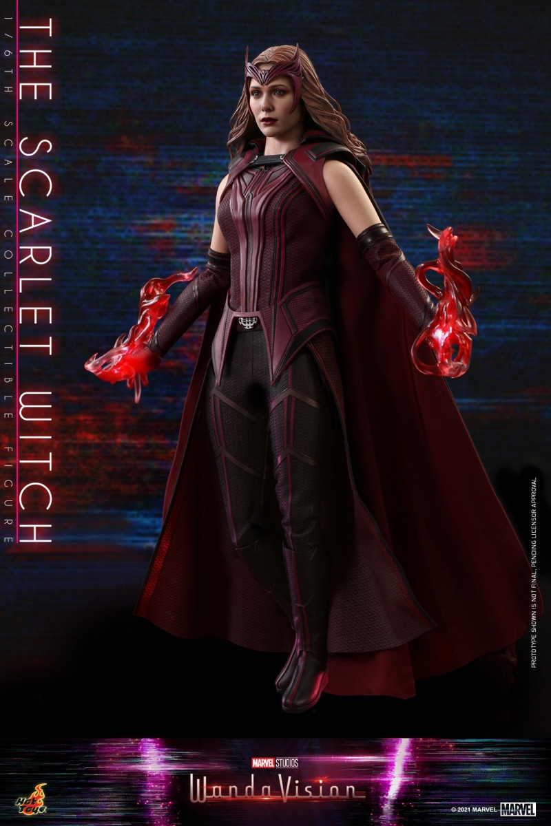 Hot Toys - WandaVision - The Scarlet Witch collectible figure_PR6.jpg