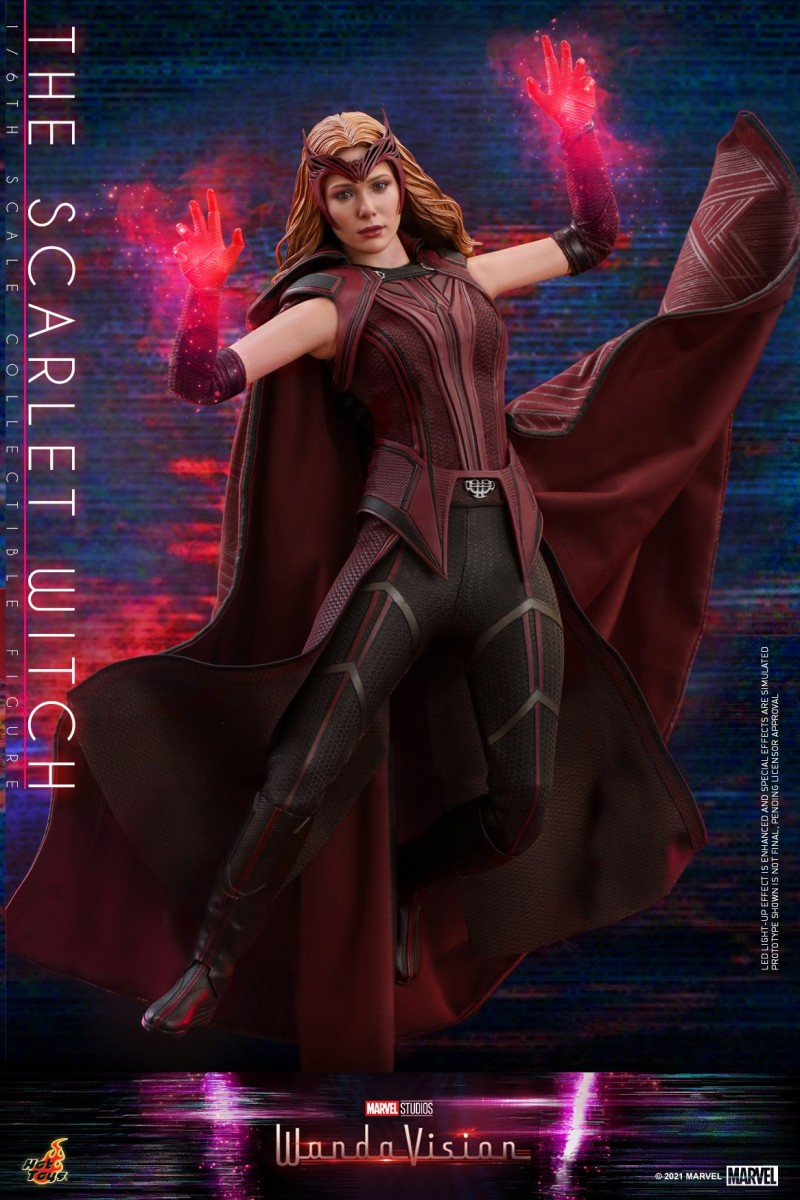 Hot Toys - WandaVision - The Scarlet Witch collectible figure_PR5.jpg