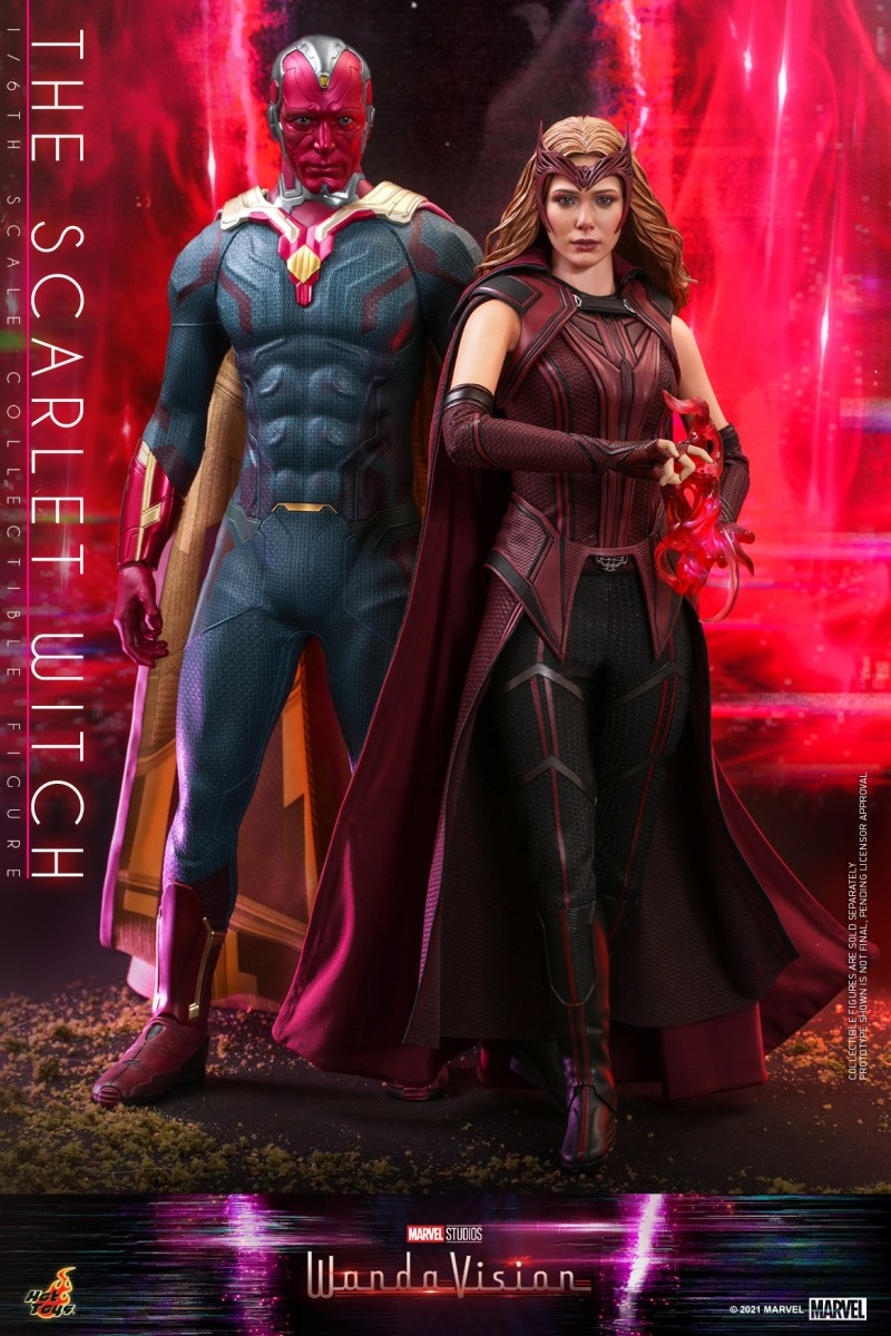 Hot Toys - WandaVision - The Scarlet Witch collectible figure_PR8.jpg