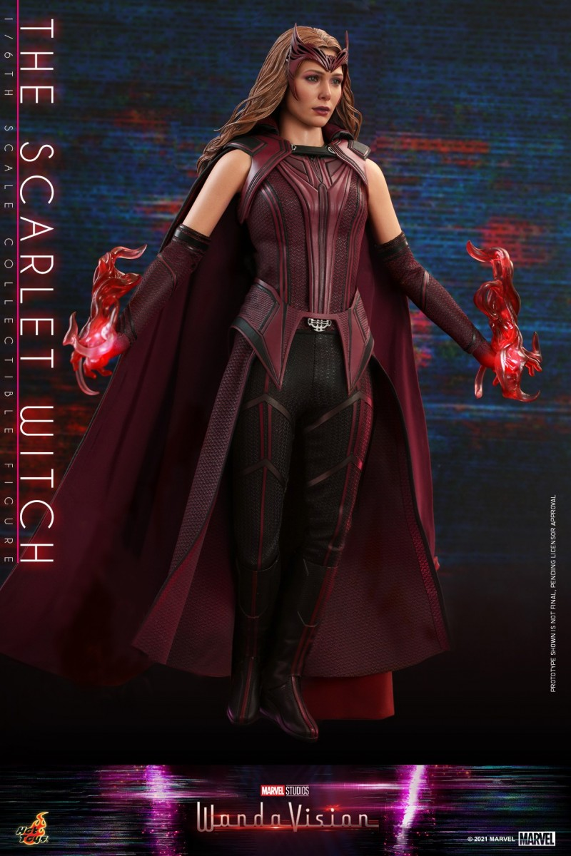 Hot Toys - WandaVision - The Scarlet Witch collectible figure_PR7.jpg