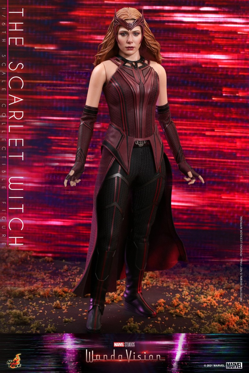 Hot Toys - WandaVision - The Scarlet Witch collectible figure_PR10.jpg