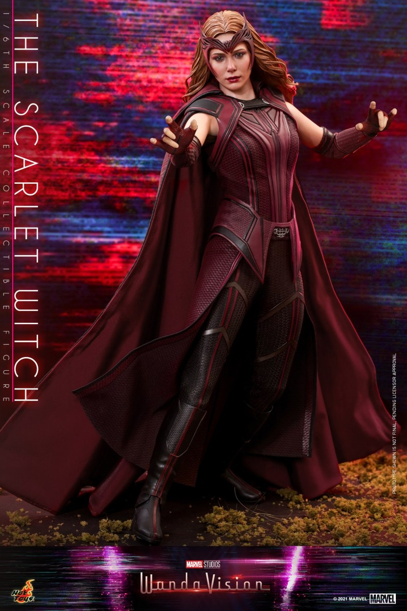 Hot Toys - WandaVision - The Scarlet Witch collectible figure_PR13.jpg
