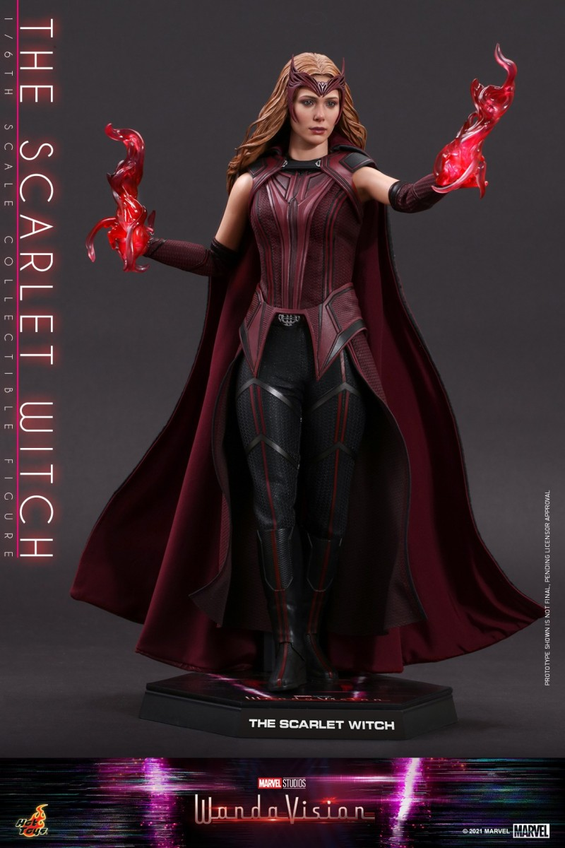 Hot Toys - WandaVision - The Scarlet Witch collectible figure_PR15.jpg