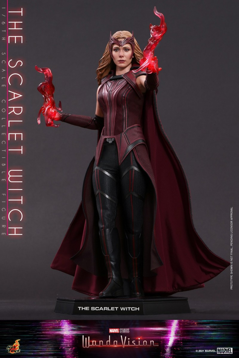 Hot Toys - WandaVision - The Scarlet Witch collectible figure_PR16.jpg