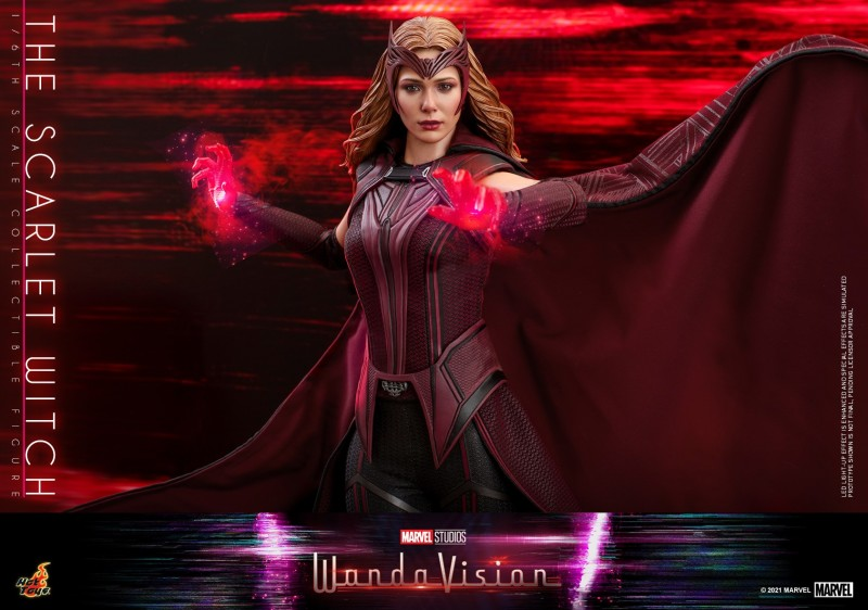 Hot Toys - WandaVision - The Scarlet Witch collectible figure_PR17.jpg
