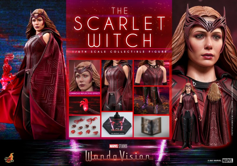 Hot Toys - WandaVision - The Scarlet Witch collectible figure_PR21.jpg
