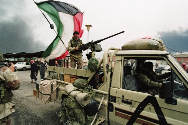 美特海湾战争在科威特的资料
