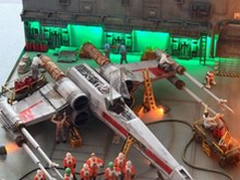 Fine Modls - 1/72 SCALE X-WING 情景